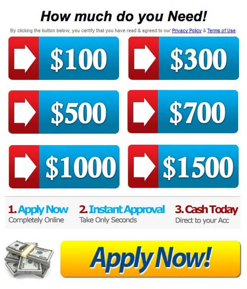 Money Deposited In One Hour Instant Payday Loans No Faxing